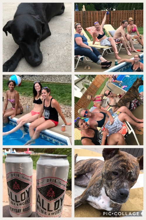 Pool party fun!