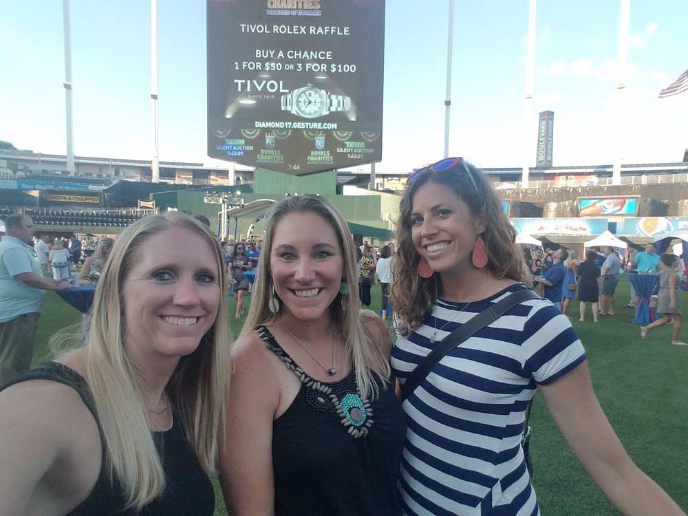 Fun in the outfield!