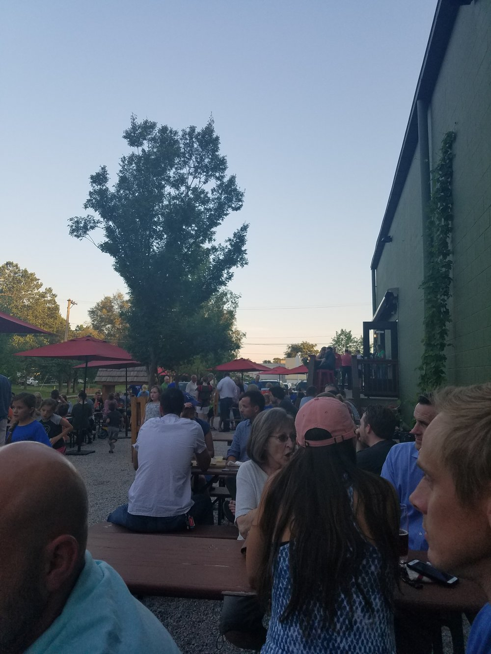 KC Bier Co Patio