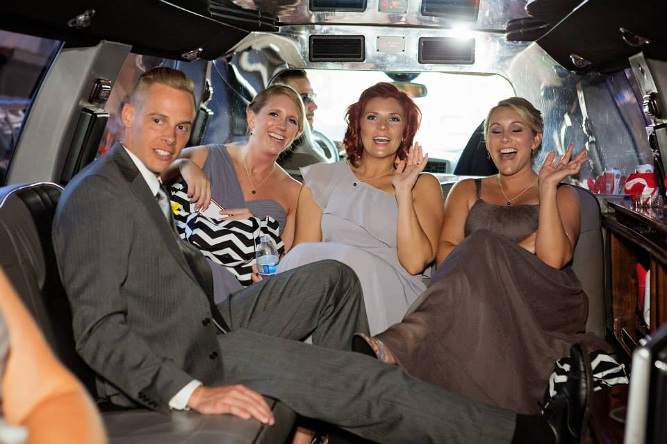 2014-Limo before Leslie's Wedding