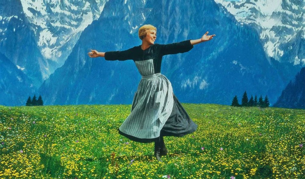 Disclaimer: This is from The Sound of Music website...it is their image...I take no credit for it.  This is really a pic of Julie Andrews and not a reenactment or personal image.