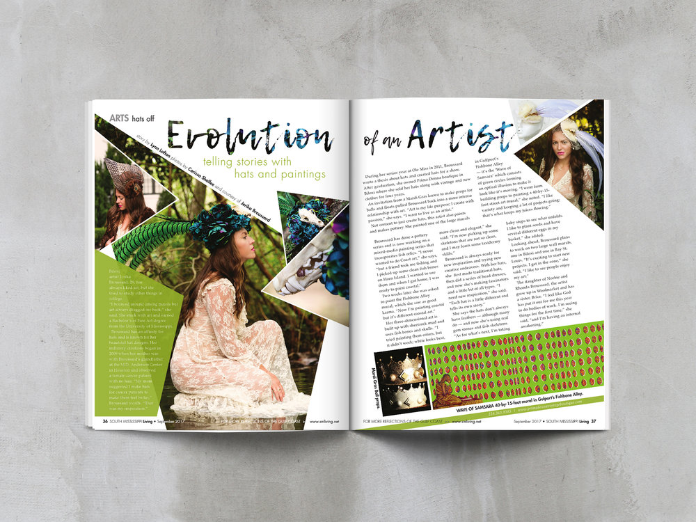 ... South Mississippi Living Magazine. Discover Magazine Layouts To Follow