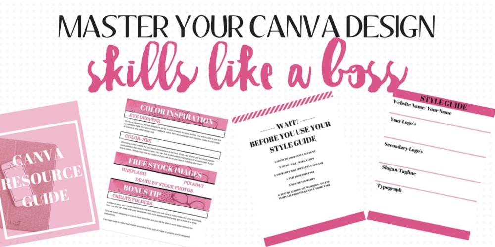 CANVA DESIGN | MASTER YOUR CANVA DESIGN SKILLS LIKE A BOSS