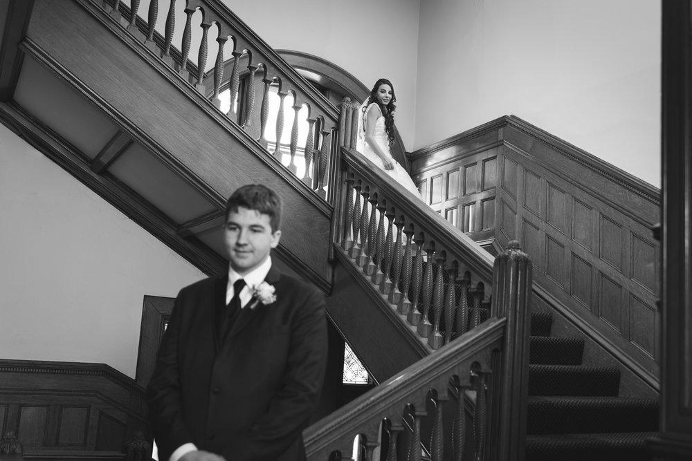 Wedding Photography Belhurst First Look