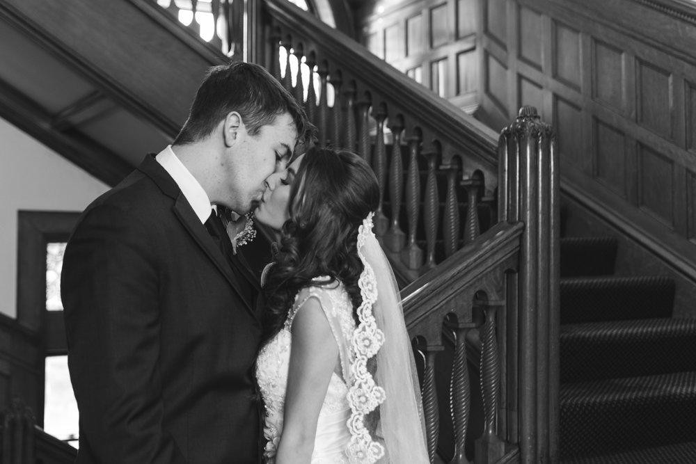 Bride and Groom Belhurst Castle
