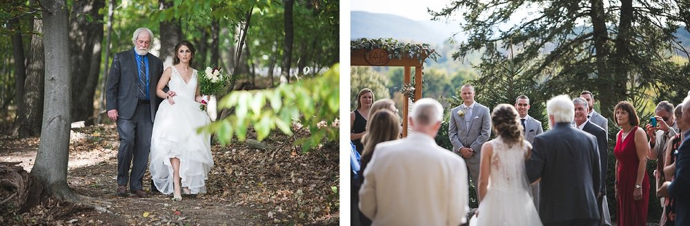 Becky and Kyle Tree Farm Wedding