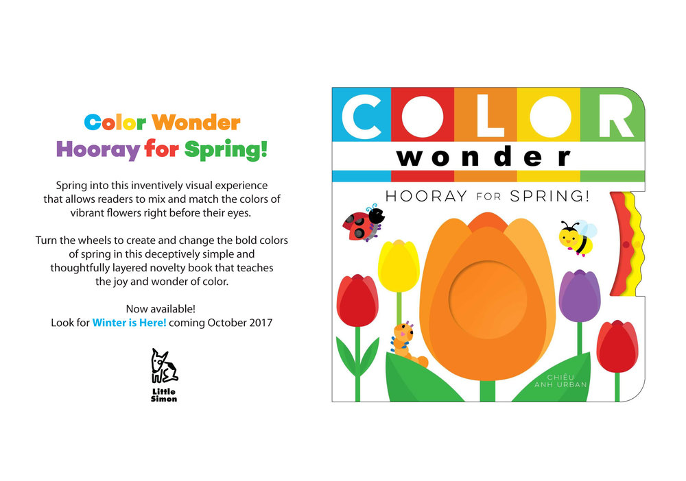 Color Wonder Hooray for Spring!