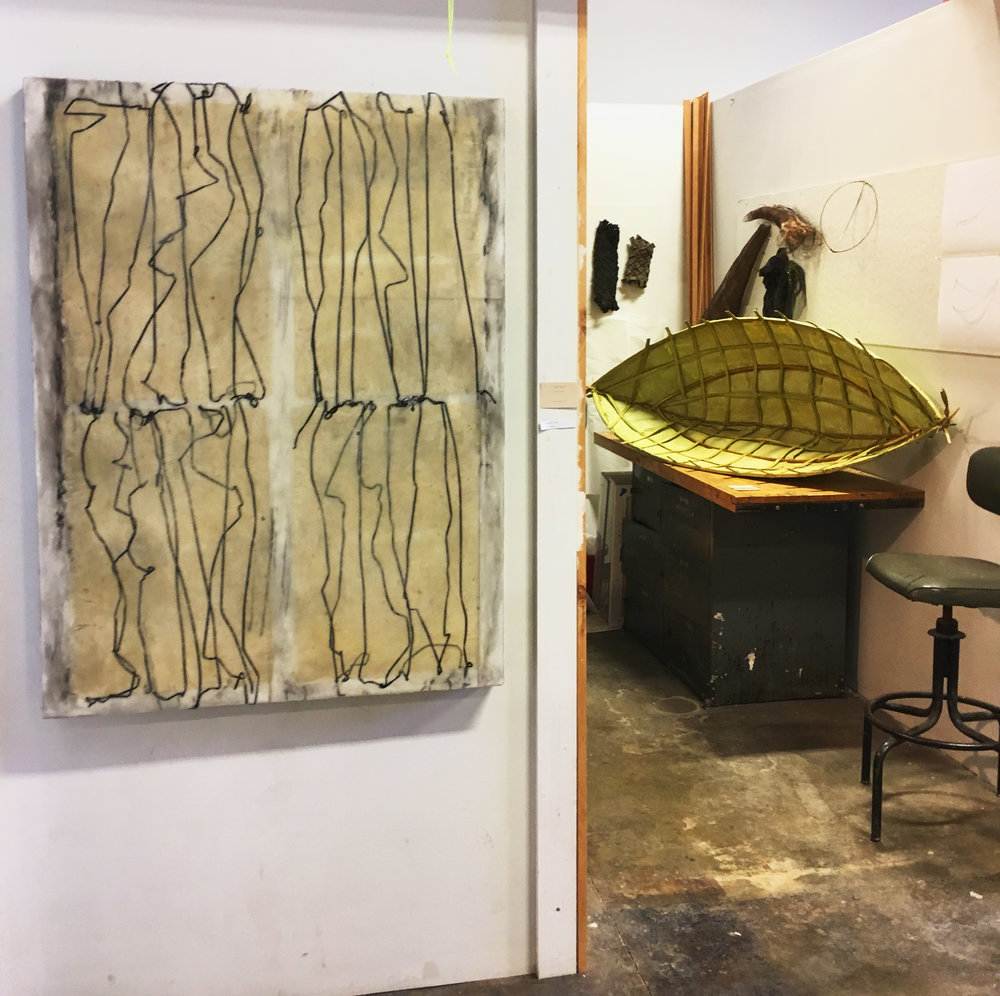 Edgewood Sculpture Studio, Georgia State University. Thesis prep 2018