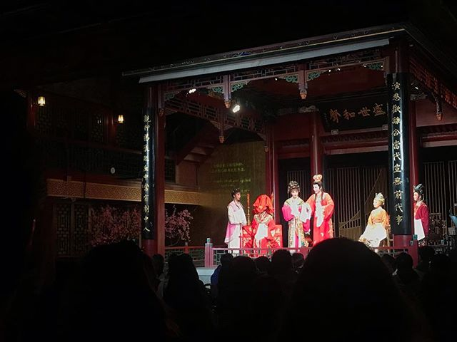 Honorable mention of Beijing is the Peking Opera 😂 housed in the oldest wooden theatre in town from 1688  Swipe    to hear these jams