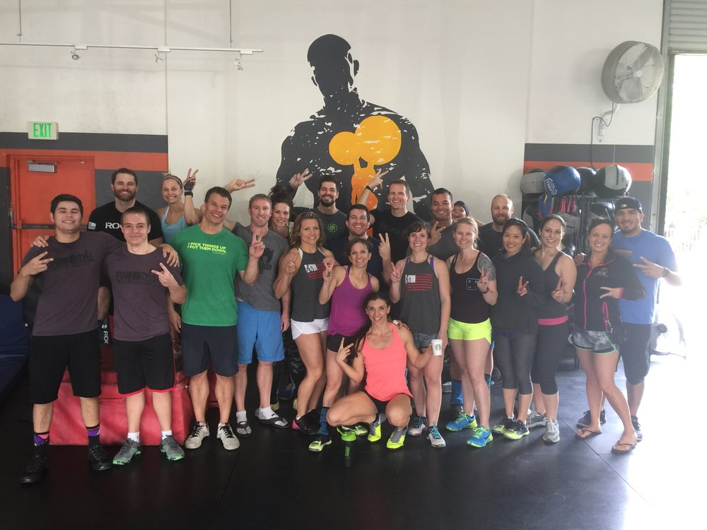 Saturday's 17.2 Crew. If you haven't made it out on a Saturday yet, you're missing out!