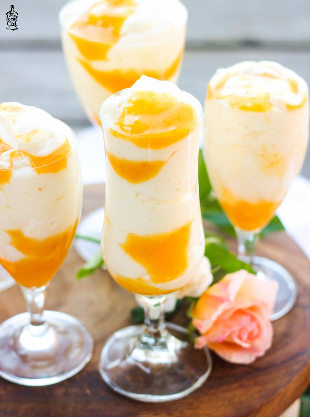 Orange Ripple Mousse