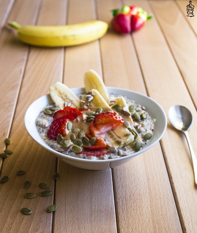 Protein-packed porridge