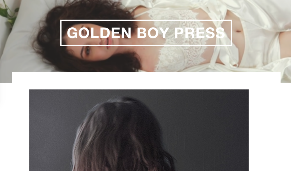 Golden Boy Press interview with Katharine Hannah Photography