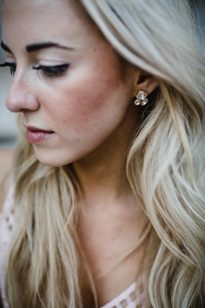 Chicago jewelry designer Alyssa Bove portrait session in Bucktown