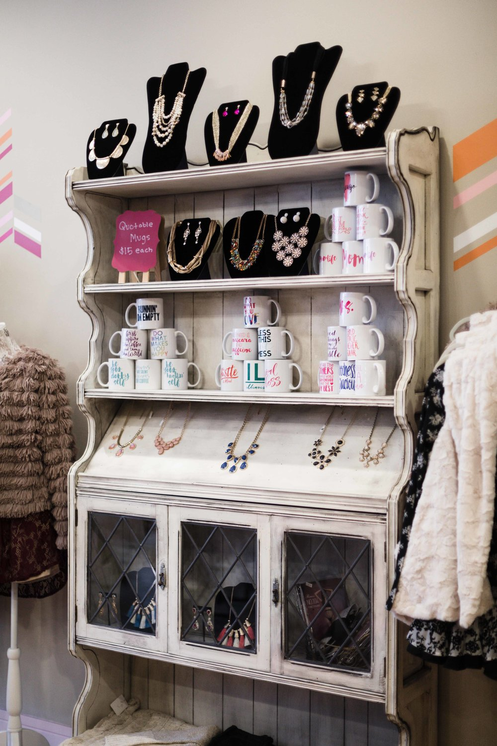 Chicago women's clothing boutique The Colette Collection interviewed for Inspired Chicago