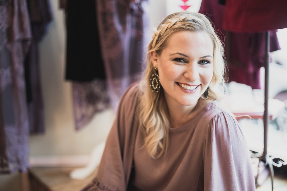 Lauren, owner of The Colette Collection interviewed for  Inspired Chicago