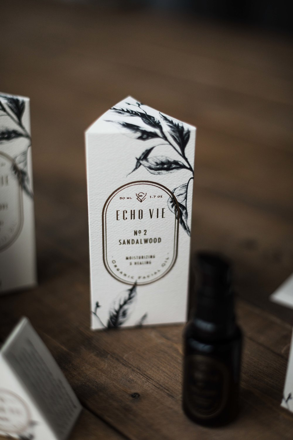 Echo Vie Chicago beauty company product photography for  Inspired Chicago  interview with KNOED