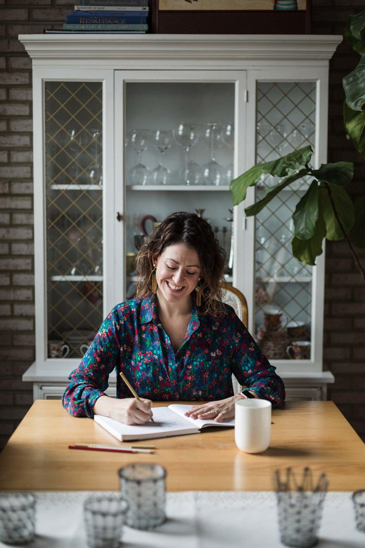 Chicago branding photography with Amanda Wolfson, freelance prop stylist