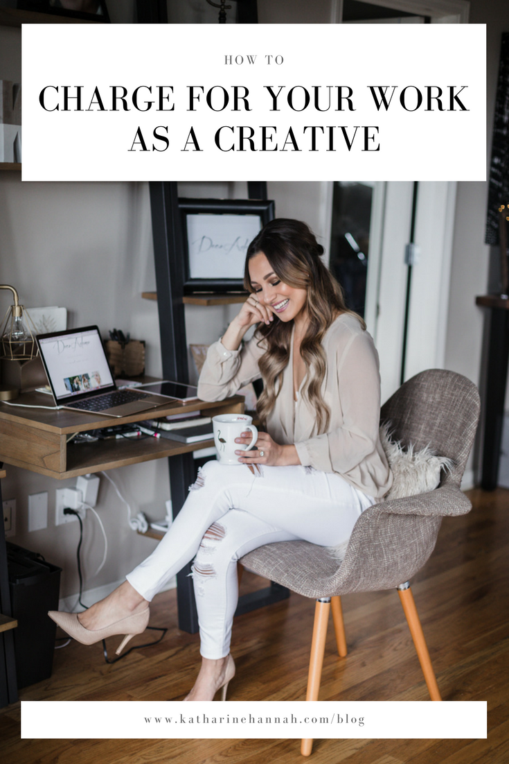 How to charge for your work as a creative entrepreneur, a guide by photographer Katharine Hannah