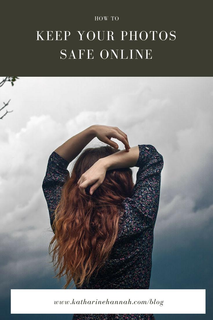 How to keep your photos safe online from Chciago photographer Katharine Hannah