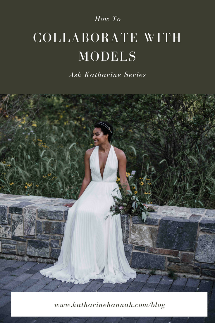 How to collaborate with models explained by Chicago portrait photographer Katharine Hannah