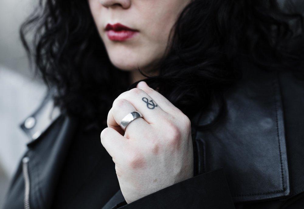 Chicago feminist author headshot by Katharine Hannah Photography