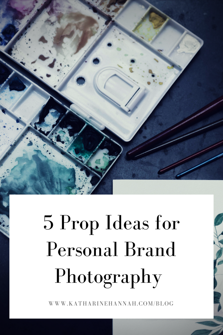 5 prop ideas for personal brand photography