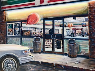 7-11  30 x 40 inches, oil on canvas
