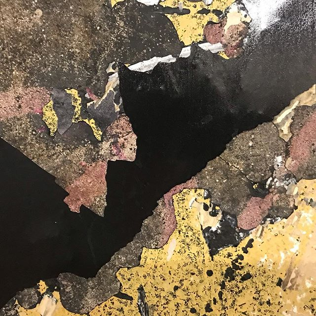 #foundabstraction #nycsubway #collageinspiration #palette #texture #layers #urbanphotography