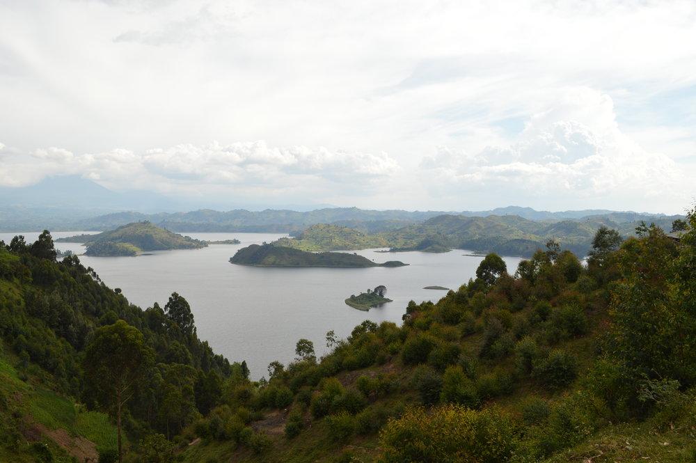 Lake Mutanda.