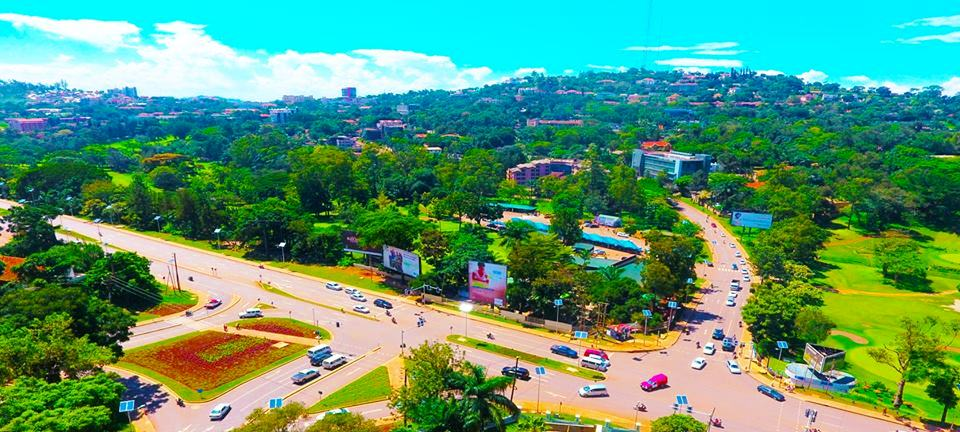 The green side of Kampala city.