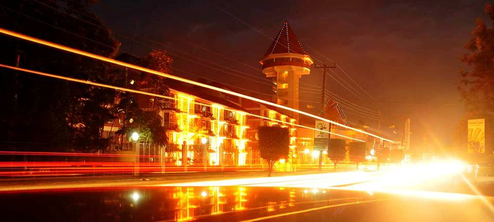 The magical lights of Kampala,the best way to end asafari!