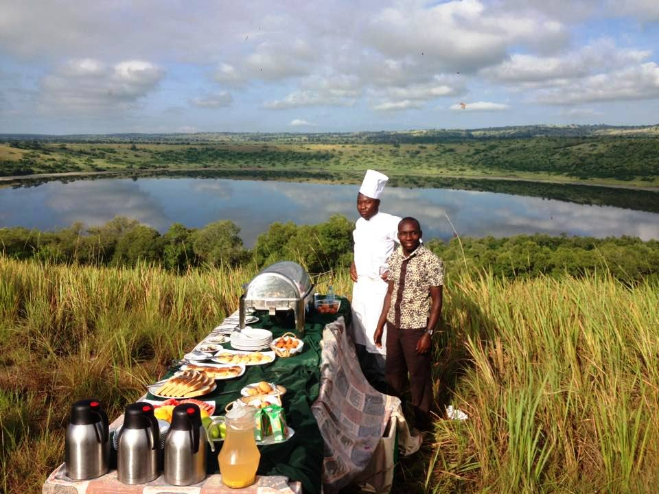 Bush Breakfast is served amidst anatural open world of wonders.