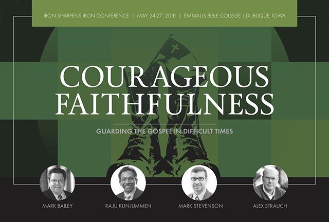 If you're unfamiliar with the Iron-Sharpens-Iron Conference, you need to take a look at it. It is a wonderful conference with fantastic teaching and fellowship, hosted by Emmaus Bible College. See the article on https://buff.ly/2EaH7GN.