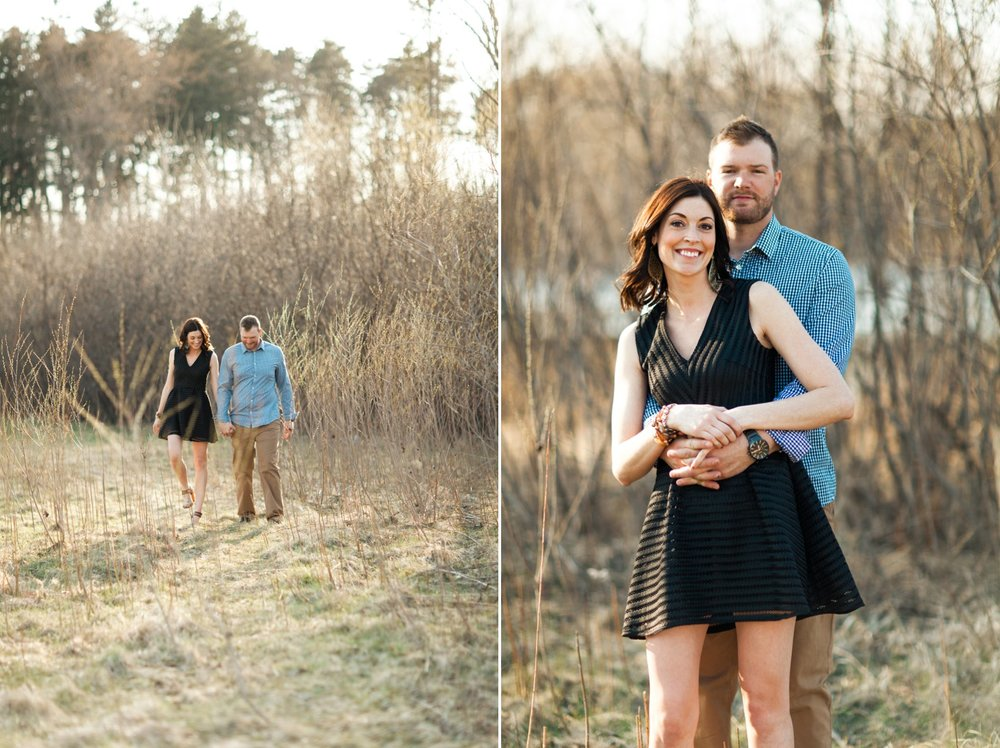 Minnesota Rustic Engagement