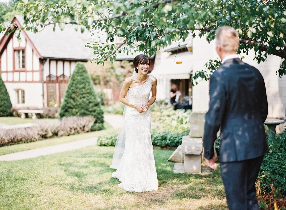 First Look at Minneapolis wedding