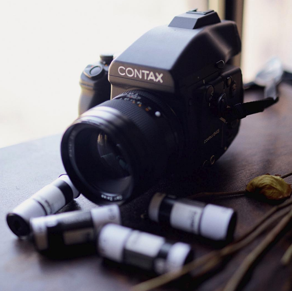 Contax 645 camera