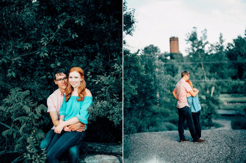 Rustic Engagement Locations