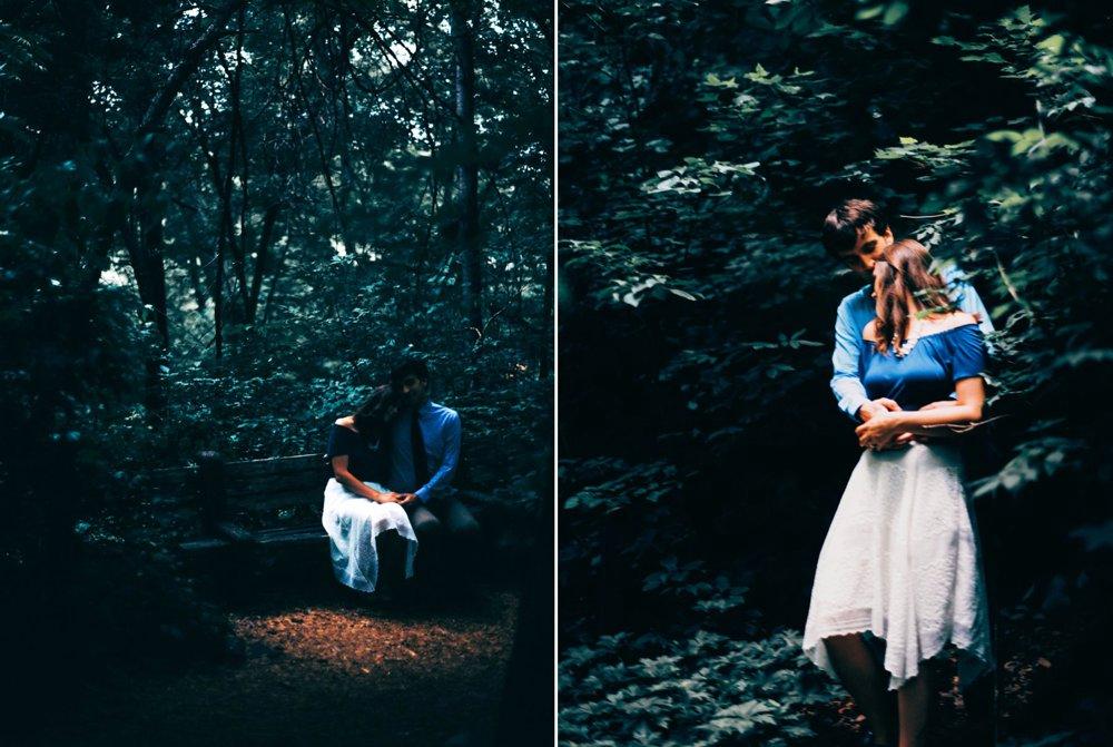 Moody Engagement Photos