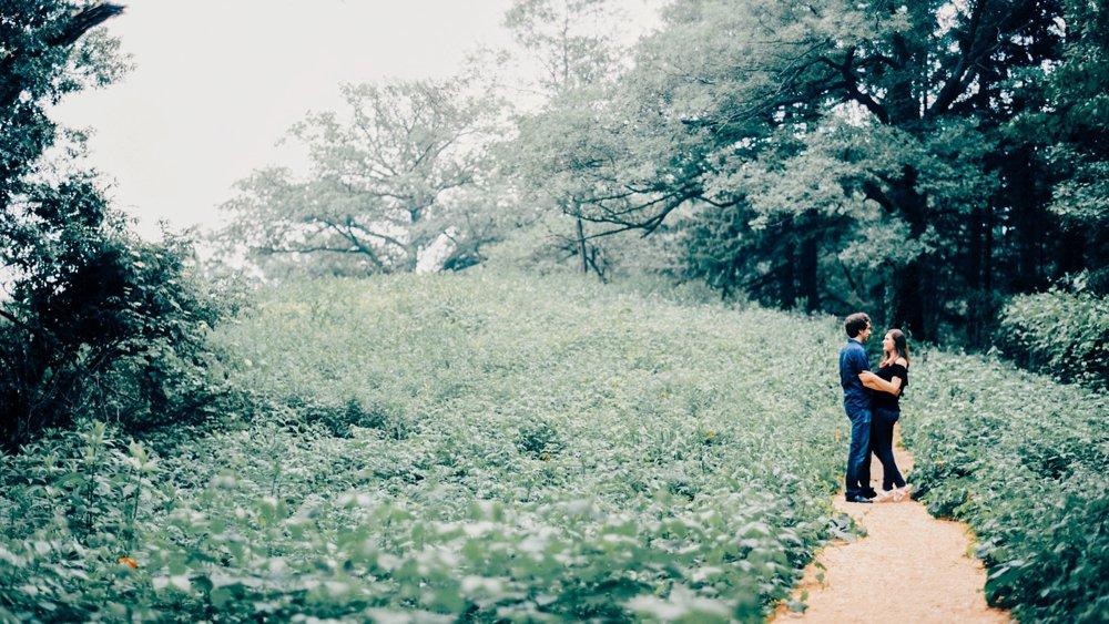 Eloise Butler Garden Engagement