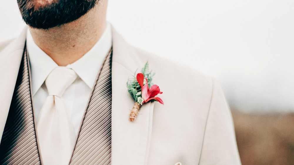 Mens style weddings