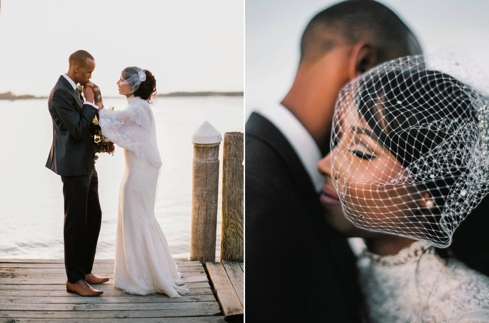 Lovely golden hour moments with Mariam and Abdul.  We had discussed in our prep meetings taking some photos on this very dock during golden hour.
