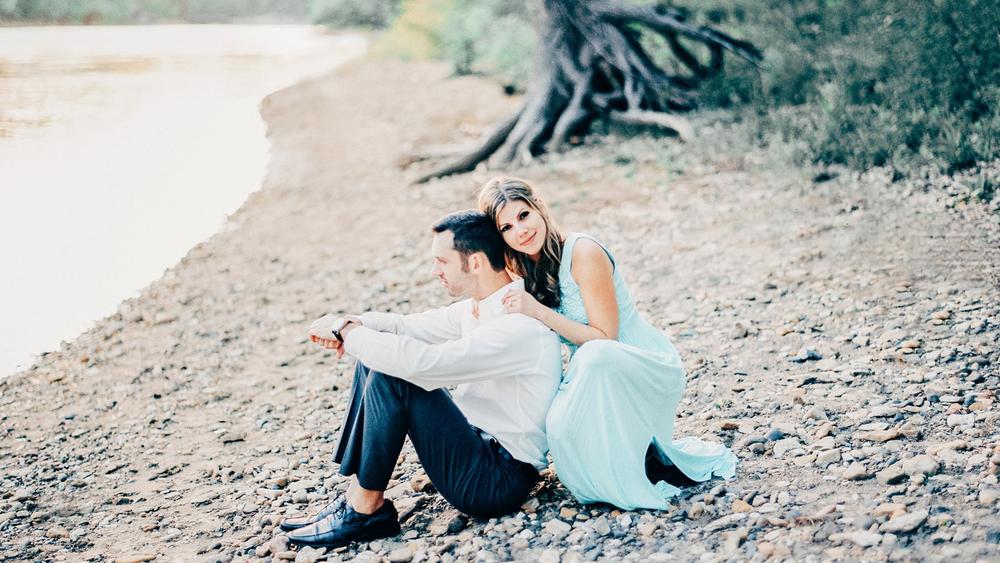 MN Beach engagements photos