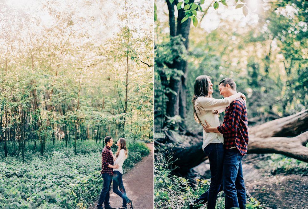Rustic MN Engagement Locations