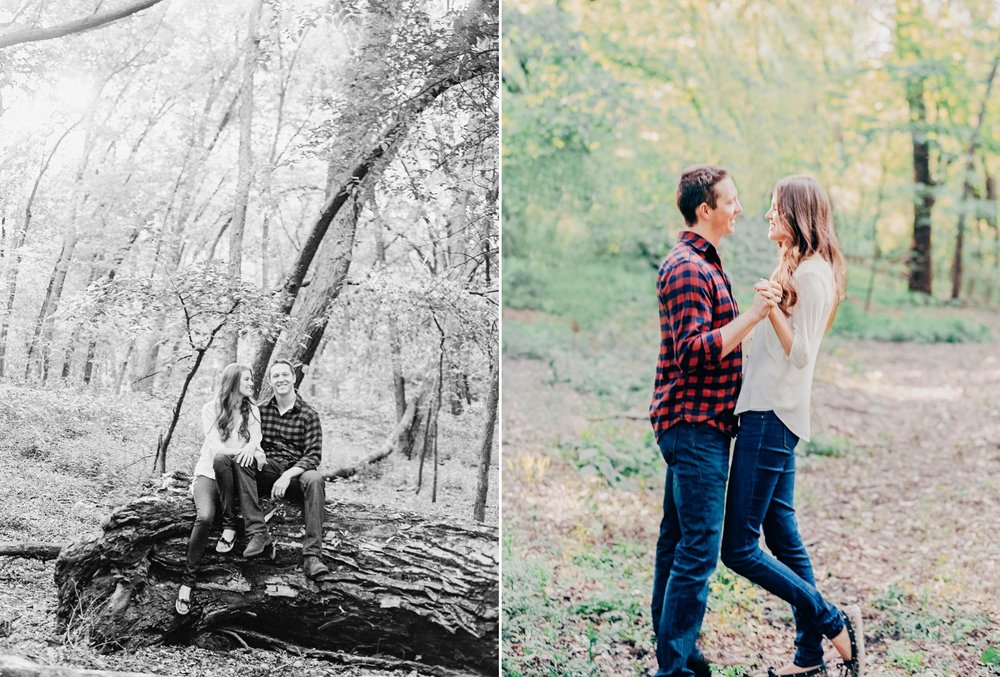 Rustic Twin Cities Engagement