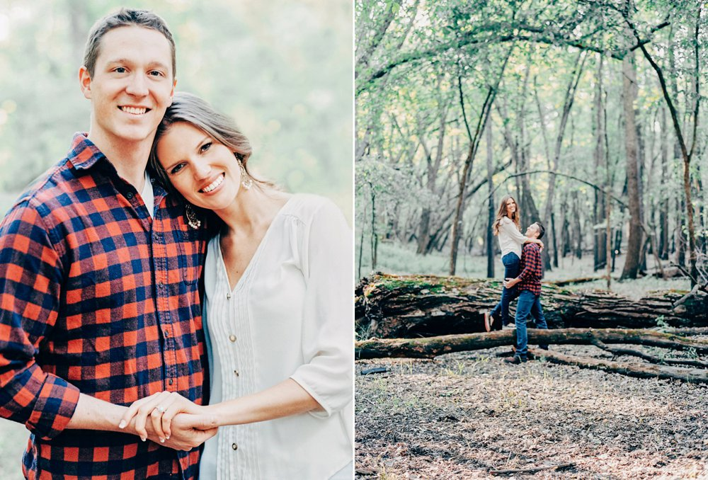 Rustic MN Engagement