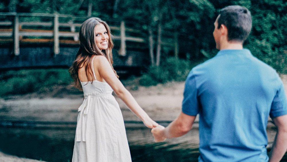 Romantic Engagement Poses