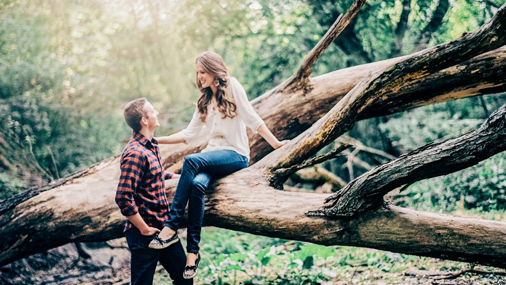Twin Cities Rustic Engagement Locations