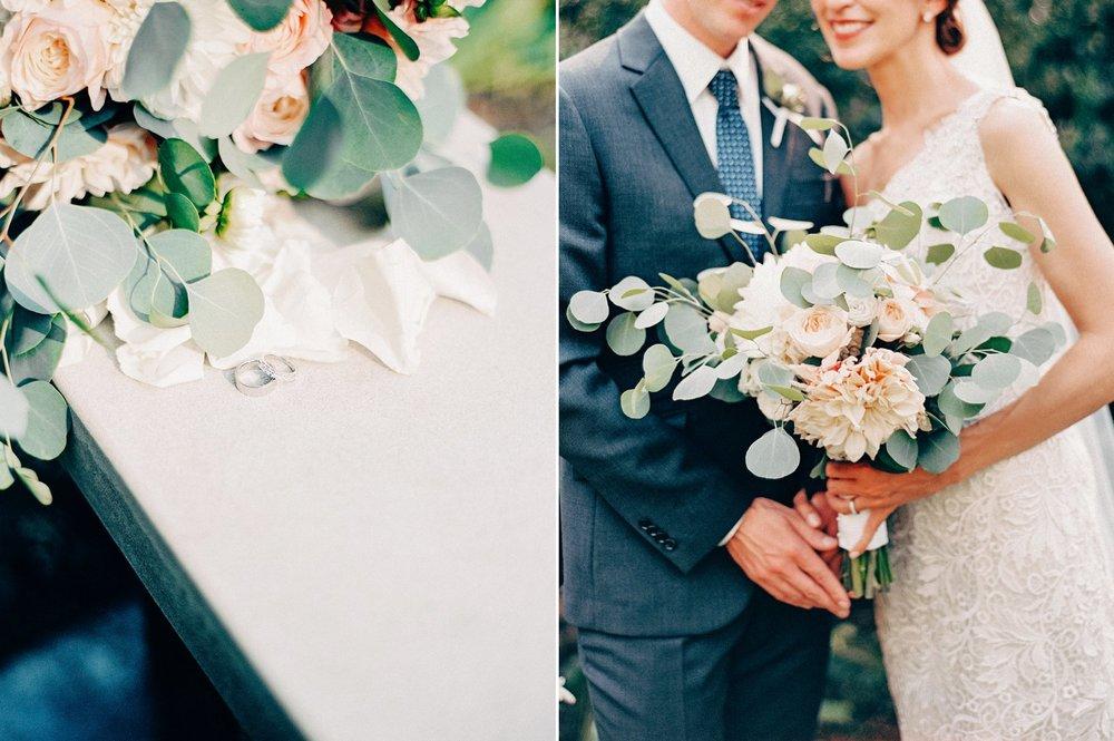 Stunning details at this Minneapolis-based wedding at The Bakken Museum.