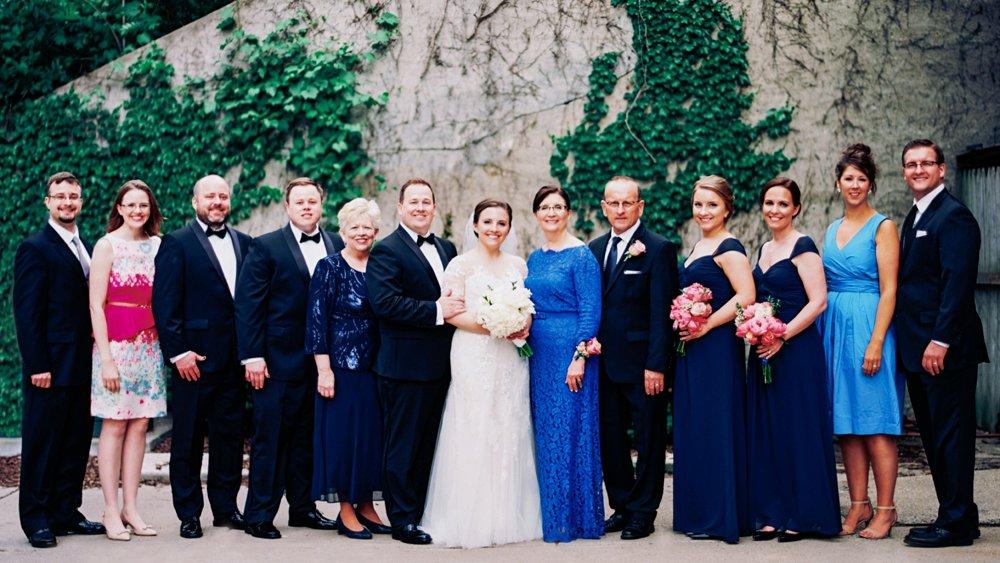 Woman's Club of Minneapolis wedding photos